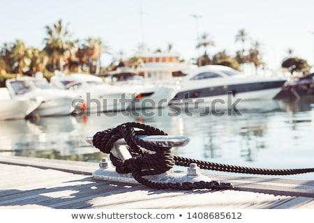 Corde legno vela vela transporti legno Foto d'archivio © Laks