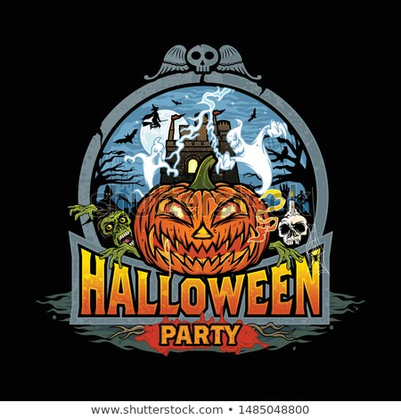 Halloween Zombie Sign Stock photo © Lightsource