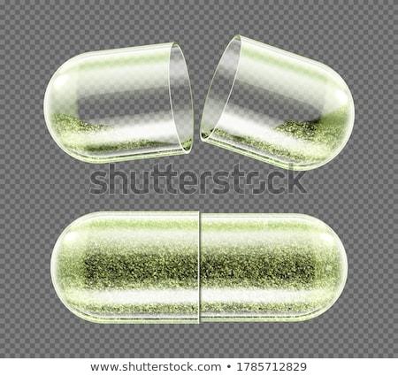 pillen · steriel · verpakking · geneeskunde · pil · slapen - stockfoto © arenacreative