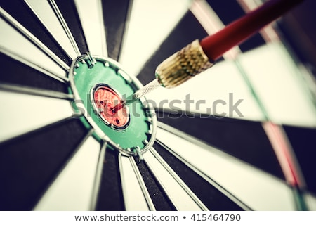 Dartboard and Dart Bullseye Stock photo © patrimonio
