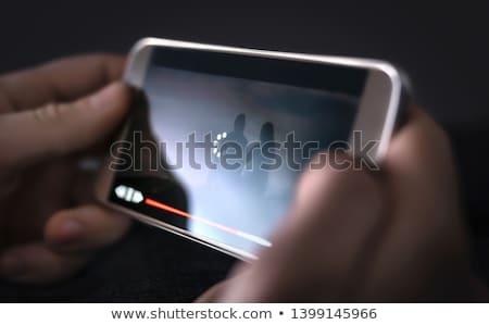 замедлять связи бизнесмен Код ключевые общаться Сток-фото © jayfish