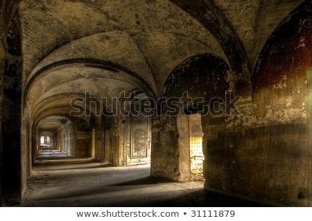 brillante · habitación · antigua · palacio · edificio · diseno - foto stock © konradbak