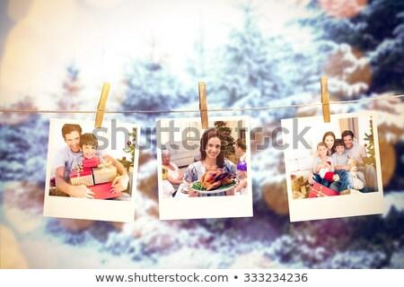 Natale · ricordi · ancora · vita · ornamenti · albero · frame - foto d'archivio © redpixel