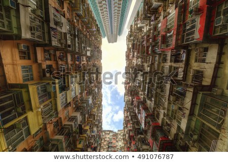 Density Hong Kong Stock photo © joyr