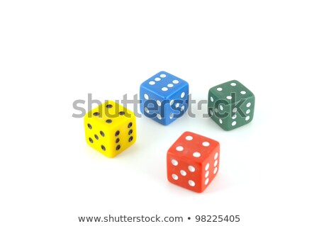 red, green, and blue dice 2 Stock photo © elvinstar