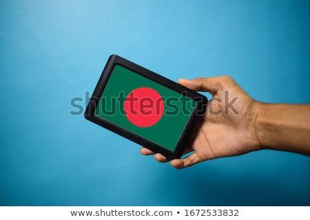 смартфон флаг Бангладеш телефон телефон мобильных Сток-фото © vepar5