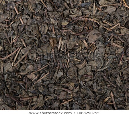 Close up dry leaves of thai tea Stock photo © nalinratphi
