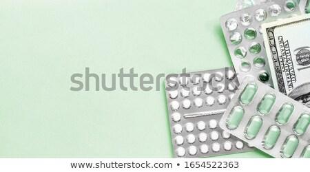médico · despesas · prescrição · garrafa · branco - foto stock © lightsource