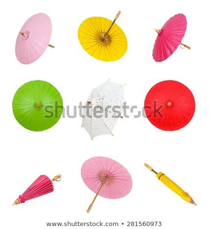 традиционный · декоративный · Японский · зонтик · искусства · Азии - Сток-фото © scenery1