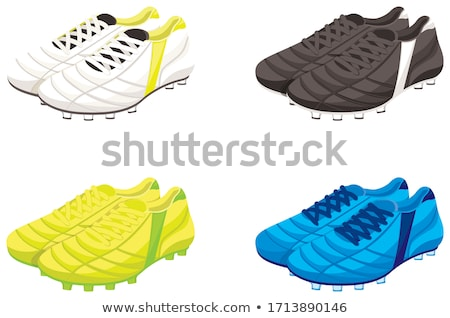 ballon · chaussures · sport · football · balle · ombre - photo stock © Slobelix