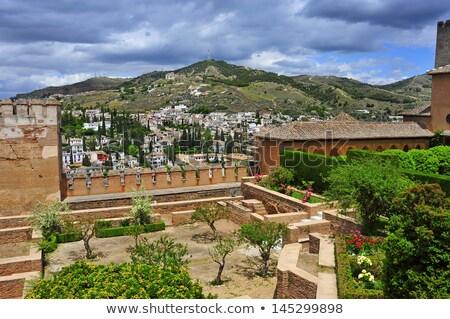 Albaicin and Sacromonte from La Alhambra in Granada, Spain Stock photo © nito