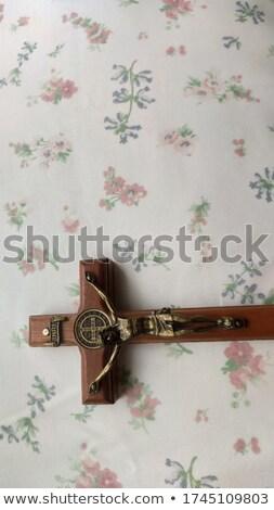 crucifixo · bom · morte · igreja · deus - foto stock © danielbarquero
