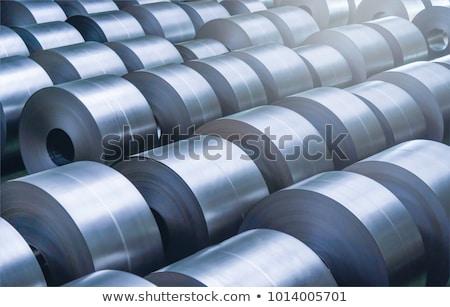 rolls of steel sheet stock photo © mady70