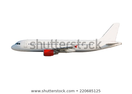 cargo plane on white background Stock photo © ssuaphoto