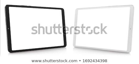 Tablet horizontally Stock photo © Givaga