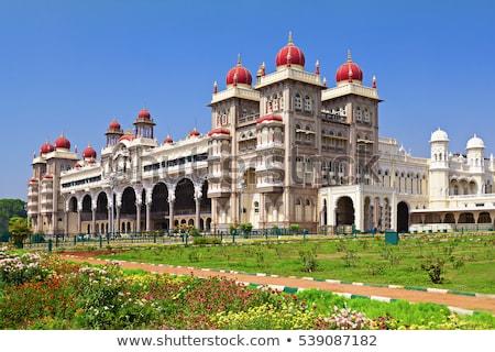 王 像 宮殿 インド アジア インド ストックフォト © nilanewsom