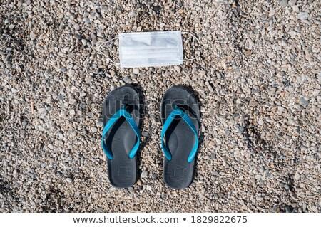 Strand slippers Turkije Stockfoto © Tatik22