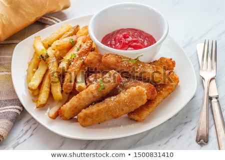 Fishsticks stock photo © XeniaII