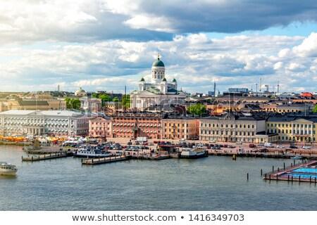 Finlandia acuarela mapa resumen pintura energía Foto stock © chris2766