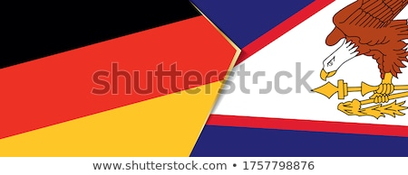 Germany and American Samoa Flags  Stock photo © Istanbul2009