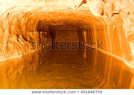 pembe · kaya · tuz · doku · doğal - stok fotoğraf © vinodpillai
