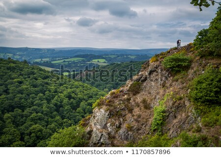 View of the landscape from Castle Drogo Stock photo © CaptureLight