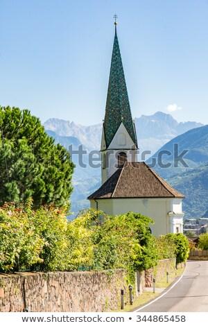 St Mauritius Church In Bolzano Zdjęcia stock © manfredxy