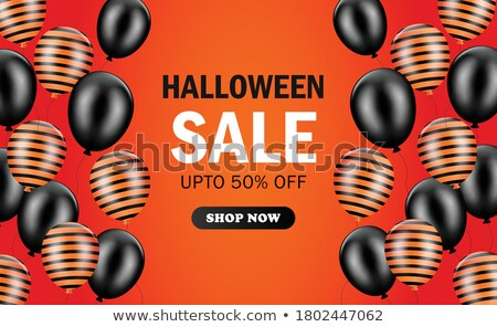 Halloween Shopping automne saisonnier affaires achat Photo stock © Lightsource