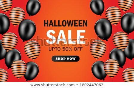 Stock fotó: Halloween · vásárlás · ősz · szezonális · üzlet · vásárol