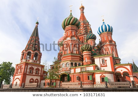 st basil cathedral moscow 2 stock photo © paha_l