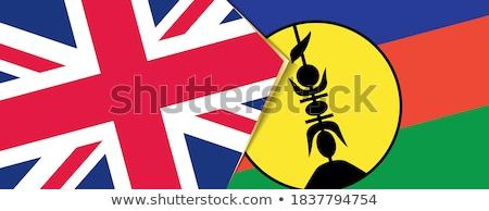 Egyesült Királyság új zászlók puzzle izolált fehér Stock fotó © Istanbul2009
