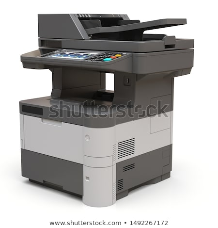 printer isolated on white stock photo © shutswis