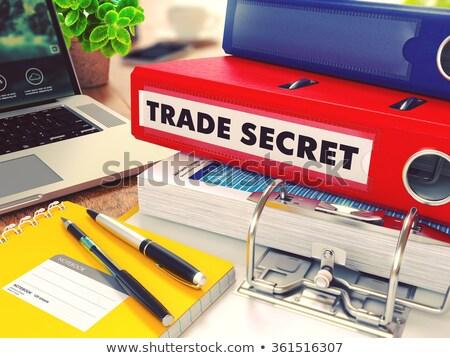 de · vendas · despesas · arquivos · laptop · comércio · negócio - foto stock © tashatuvango