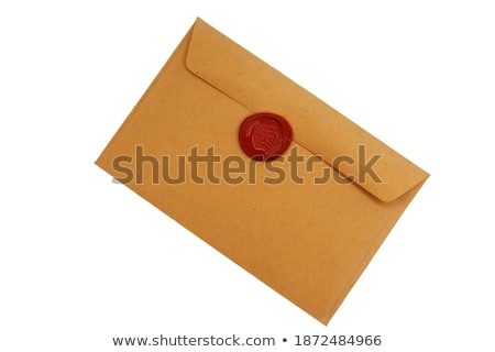 letter and letter pad with seal stock photo © get4net
