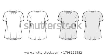 Sketch signora indossare formale abito illustrazione Foto d'archivio © bluering