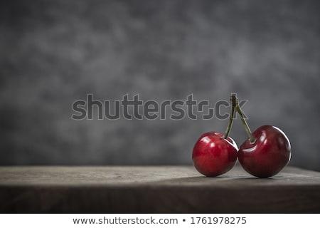 still life of cherries Stock photo © mizar_21984