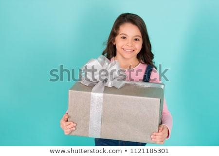little · girl · muitos · expressões · faciais · ilustração · feliz · olhos - foto stock © bluering