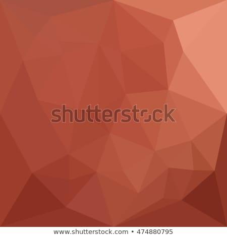 оранжевый аннотация низкий многоугольник стиль иллюстрация Сток-фото © patrimonio