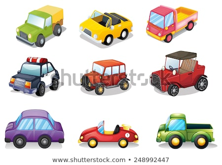 different kind of car cartoon stock photo © jawa123