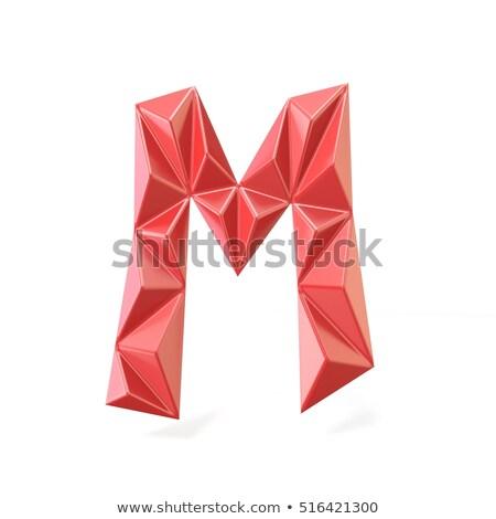 vermelho · moderno · fonte · dígito · nove · 3D - foto stock © djmilic