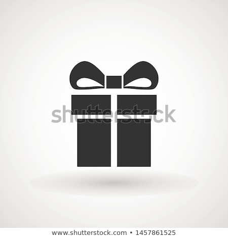 Gift Box Vector Icon in Flat Style Design   Stock photo © robuart