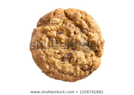 Oatmeal cookies isolated on white background stock photo © serpla
