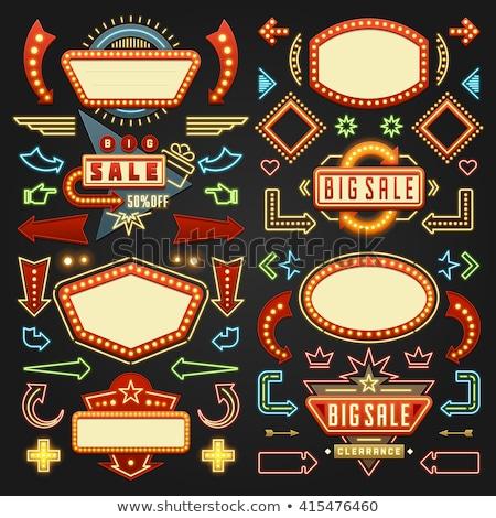 cassino · vintage · pôquer · elementos · coração · fundo - foto stock © sdcrea