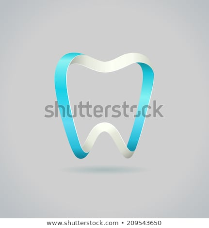 kâğıt · dişler · mavi · beyaz · diş · doktor · sağlık - stok fotoğraf © tefi