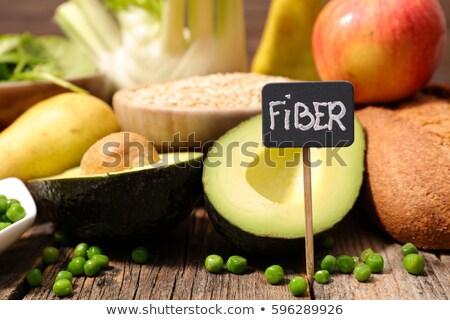 étel rost kenyér körte ötlet egészséges Stock fotó © M-studio