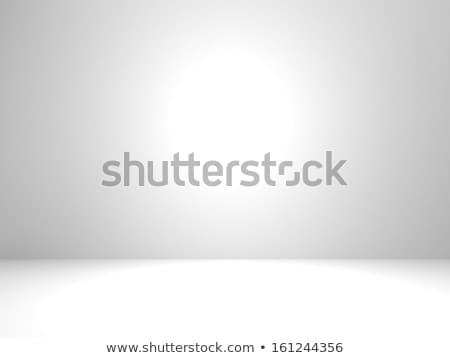 Vazio branco quarto quarto vazio nicho paredes Foto stock © timurock
