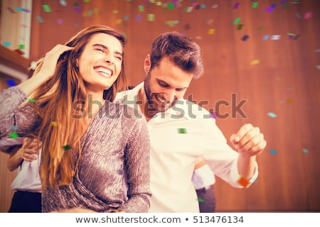 Joyful couple enjoying the spare time  Stock photo © majdansky