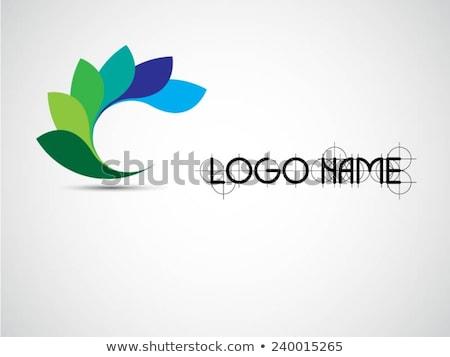 Creativa resumen vibrante diseño de logotipo diseno empresarial Foto stock © SArts