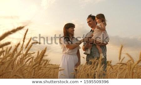 iş · kadını · yürüyüş · çamurlu · çiftlik · tarım · evrak · çantası - stok fotoğraf © is2