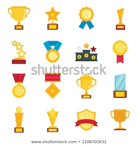gagnant · tasse · or · prix · championnat · tournoi - photo stock © lucia_fox